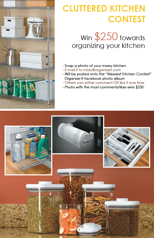 Cluttered Kitchen Contest