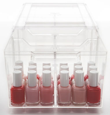 How to Organize Nail Polish
