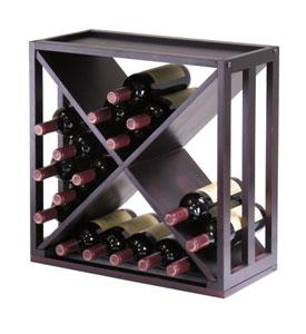 wine rack x design