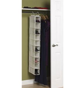 Good 20 Pocket Shelf Hanging Closet Organizer, 11 Pairs Shoes Rack, Shoe  Organizer,