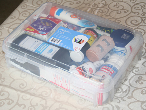 Turn A Basic Storage Box Into A Practical First Aid Kit