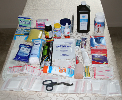 Turn A Basic Storage Box Into A Practical First Aid Kit - Organize-It ...