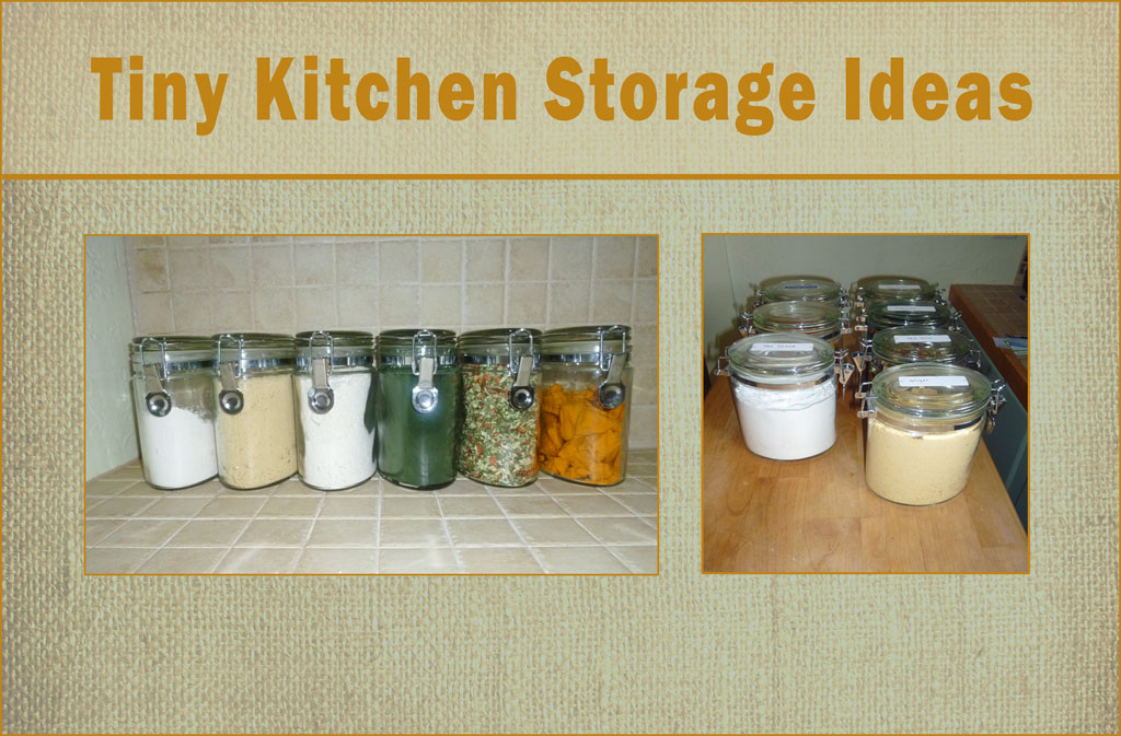 Tiny kitchen storage ideas maximize small spaces - Kitchen storage for small spaces ideas ...