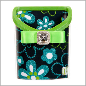 magnetic locker bin green