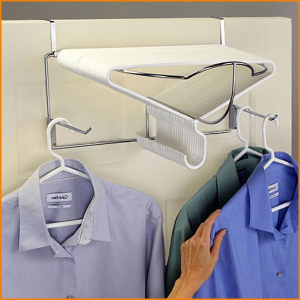 Over-Door Deluxe Hanger Rack