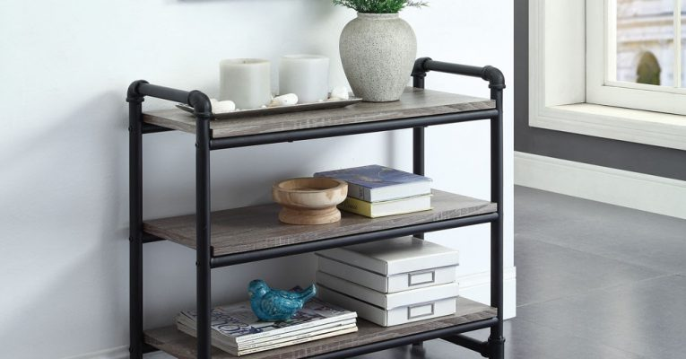 Pipe Furniture 3-Tier Wall Shelf