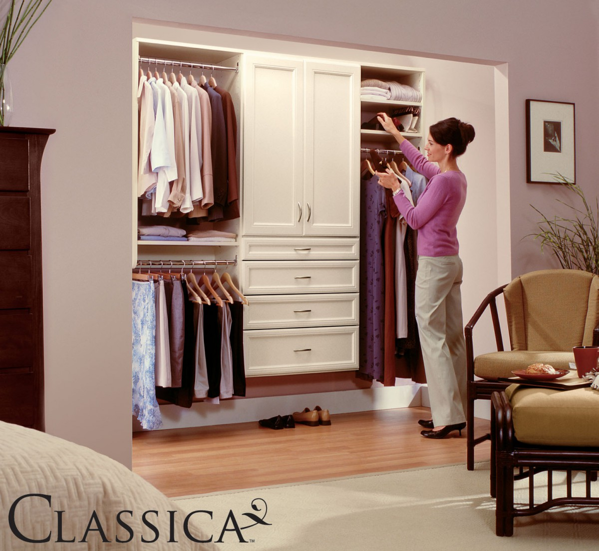 Classica Bisque Model Closet