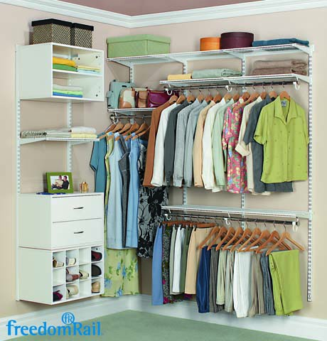 reach in closet systems. FreedomRail Women\u0027s Reach-In Closet Reach In Closet Systems