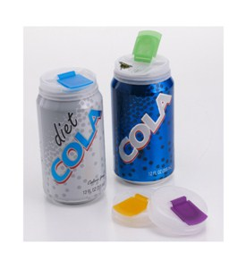 Plastic Soda Can Caps (Set of 4) Image