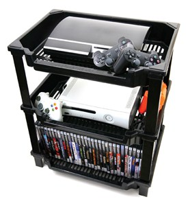 Video Game Shelf Caddy - Large Image