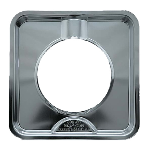 7 75 Inch Chrome Square Gas Range Drip Pan In Stove Top