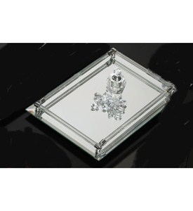 Deluxe Mirrored Vanity Tray Image