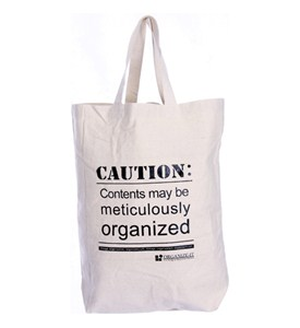 Reusable Canvas Tote Bag - Organize-It Logo Image