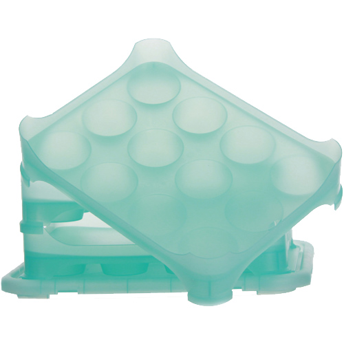 Disposable Cupcake Carrier Chefible 12 Cupcake Container
