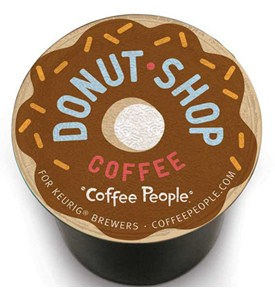 Coffee People Donut Shop Coffee K-Cups (Set of 18) Image