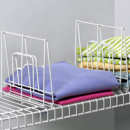 Wire Shelf Dividers 8 Inch In Shelf Dividers