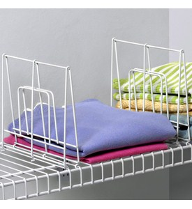 Wire Shelf Dividers - 8 Inch Image