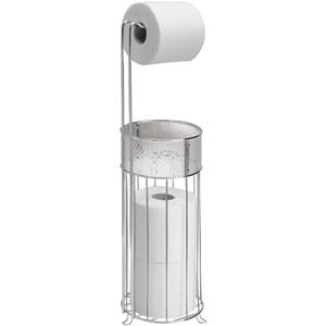 InterDesign Standing Toilet Paper Holder in Toilet Paper Stands