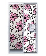 Pink Floral Locker Decor Wallpaper