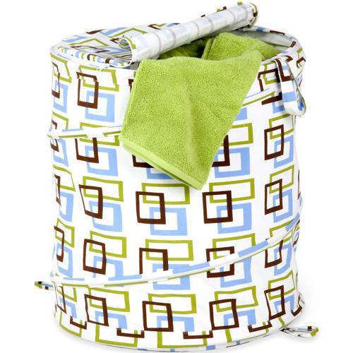 Spiral Pop Up Laundry Hamper In Clothes Hampers