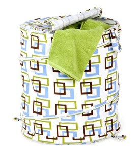 Spiral Pop Up Laundry Hamper Image