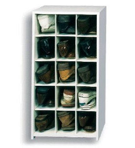15 Pair Large Shoe Cubby Image