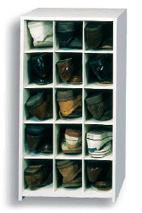 ... 15 Pair Large Shoe Cubby ...
