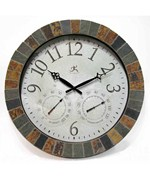 Slate Mosaic Indoor - Outdoor Clock