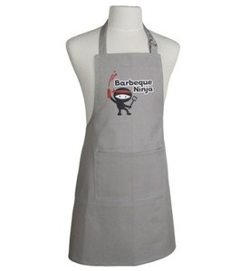 Kitchen Apron - Barbecue Ninja Image