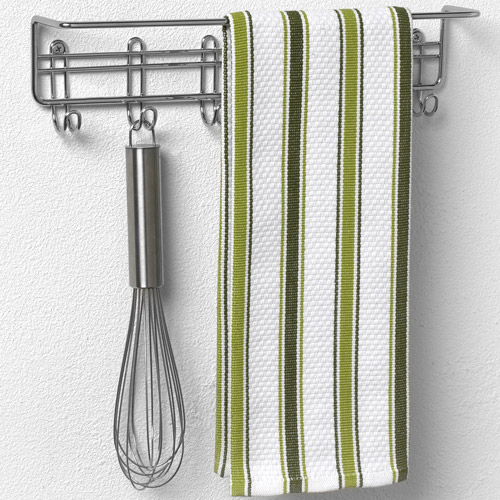 wall mount kitchen towel bar in cabinet door organizers