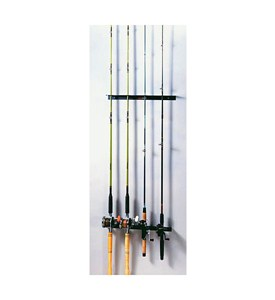 Mounted Fishing Rod Rack Image