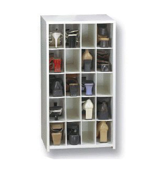 Charming 20 Pair Medium Shoe Cubby Image Gallery