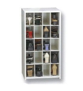 20 Pair Medium Shoe Cubby Image