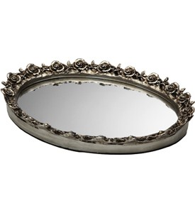 Decorative Vanity Mirror Tray Image