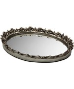 Decorative Vanity Mirror Tray