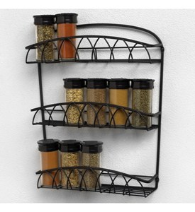 Wall Mounted Spice Rack Image