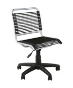Low Back Office Chair - Aluminum