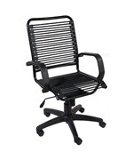 Bradley Bungie Office Chair - Black-Graphite