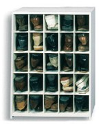 25 Pair Large Shoe Cubby
