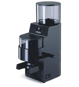 Black Coffee Grinder and Doser Image
