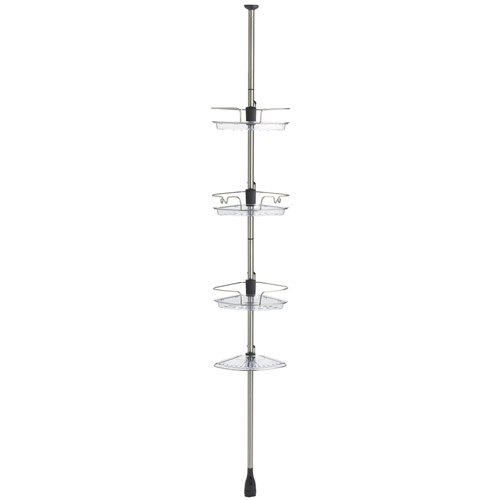 oxo good grips stainless steel shower caddy image