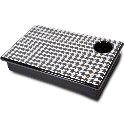 Bean Bag Lap Desk Houndstooth In Lap Desks