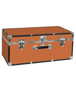 Classic Collegiate Storage Trunk - Orange