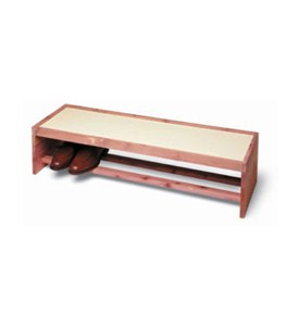 Cedar Shoe Rack Topper Image
