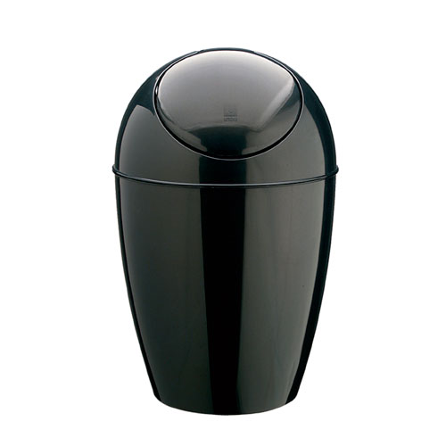 Umbra small trash can black in small trash cans - Umbra mini trash can ...