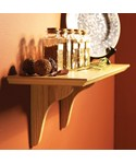 Wood Wall Mount Shelf Kit