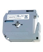 Brother 0.5 Inch P-Touch M Tape - White