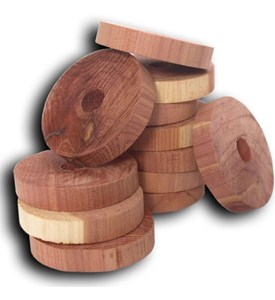 Hanger Rings - Cedar (Set of 6) Image