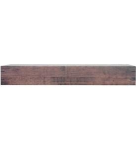 nexxt mantel 24 inch floating shelf chestnut in wall. Black Bedroom Furniture Sets. Home Design Ideas