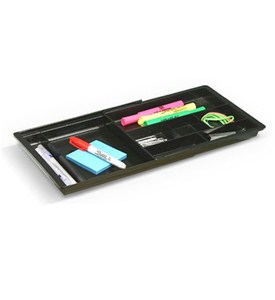 Drawer Doubler Divided Organizer - Black Image